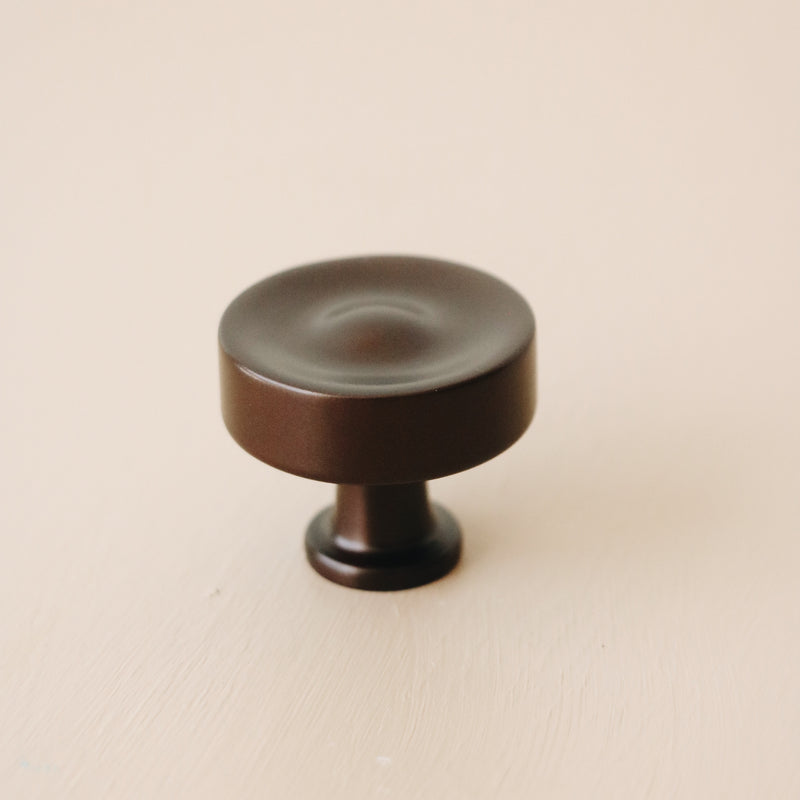 Ronan Metal Knob - Honey Bronze