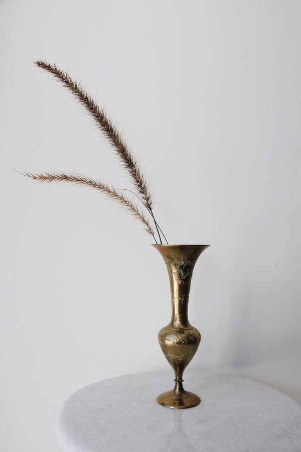 FOUND. 'Jude' Brass Vase