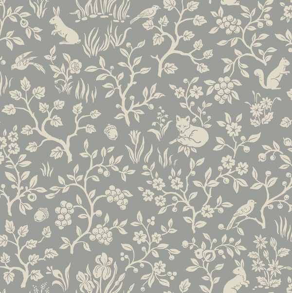 Fox & Hare - Magnolia Home II Wallpaper