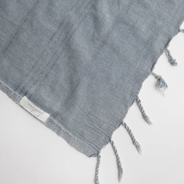 Solid grey coloured Turkish Towel. Made from 100% Turkish Cotton. Can be used as a Beach Towel, Bath Towel, throw, travel towel, scarf, yoga mat. Great for taking on trips. Shop Online. Local Swift Current SK Shop. Home decor. Modern Prairie Living.