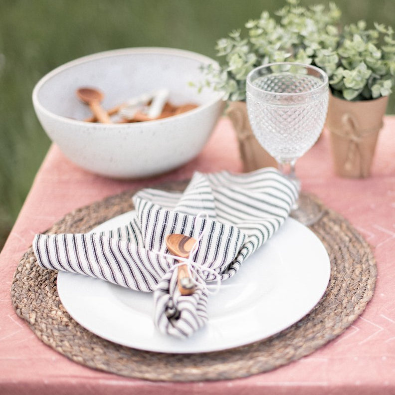 Maja Maize Placemat, Sand - Set of 4