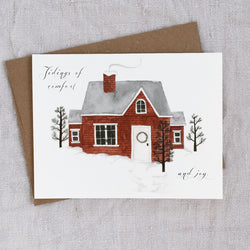 """Tidings of Comfort + Joy"" - Holiday Greeting Card"