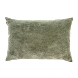Villa Velvet Pillow - Green