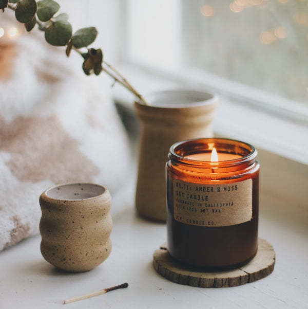 NO.11: Amber & Moss Candle