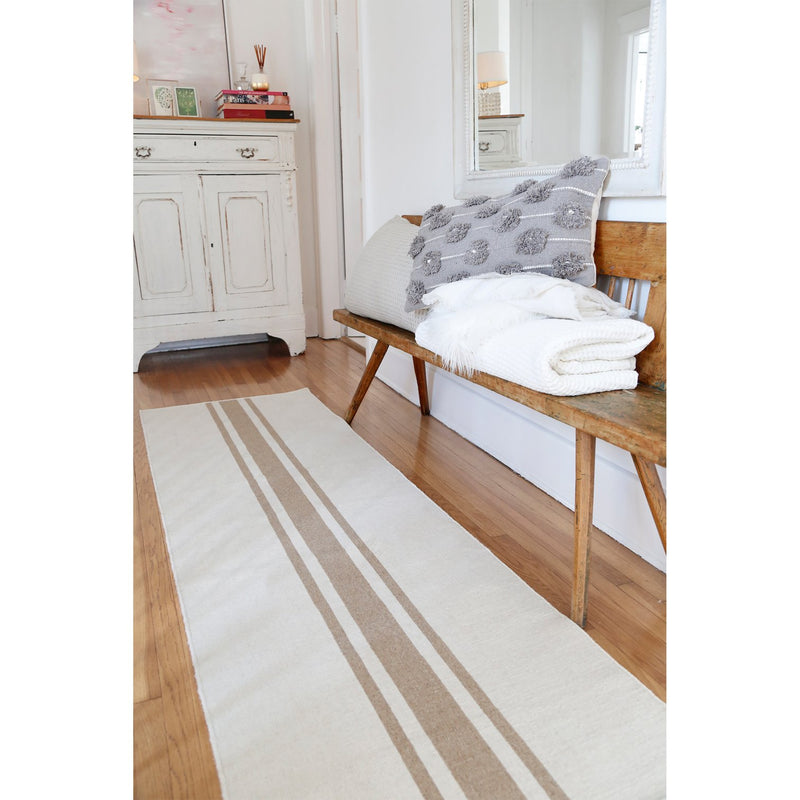 Beachwood Rug in Ivory/Natural