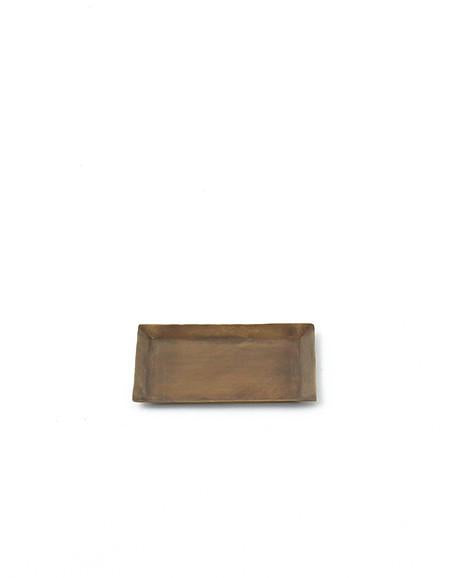 Rectangle brass plate