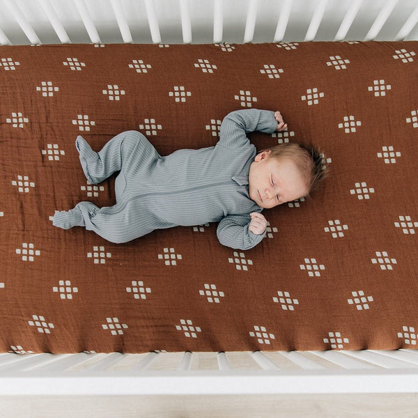 Crib Sheet - Chestnut