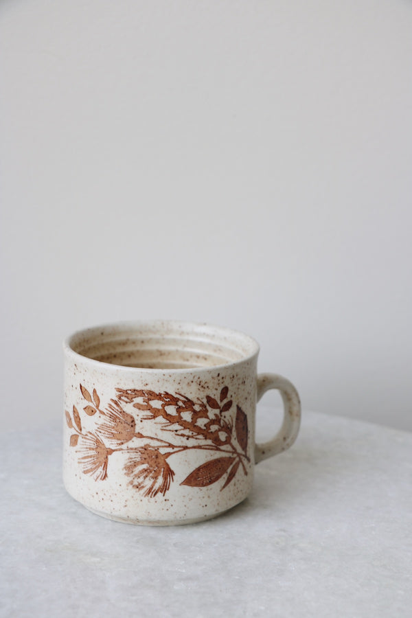 FOUND. 'Prairie Grass' Speckled Mug