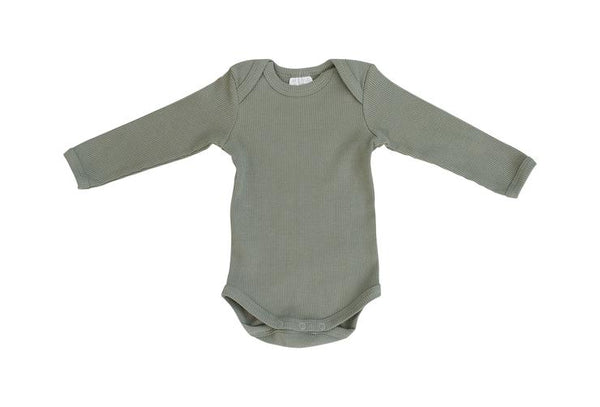 Organic Cotton Bodysuit - Green