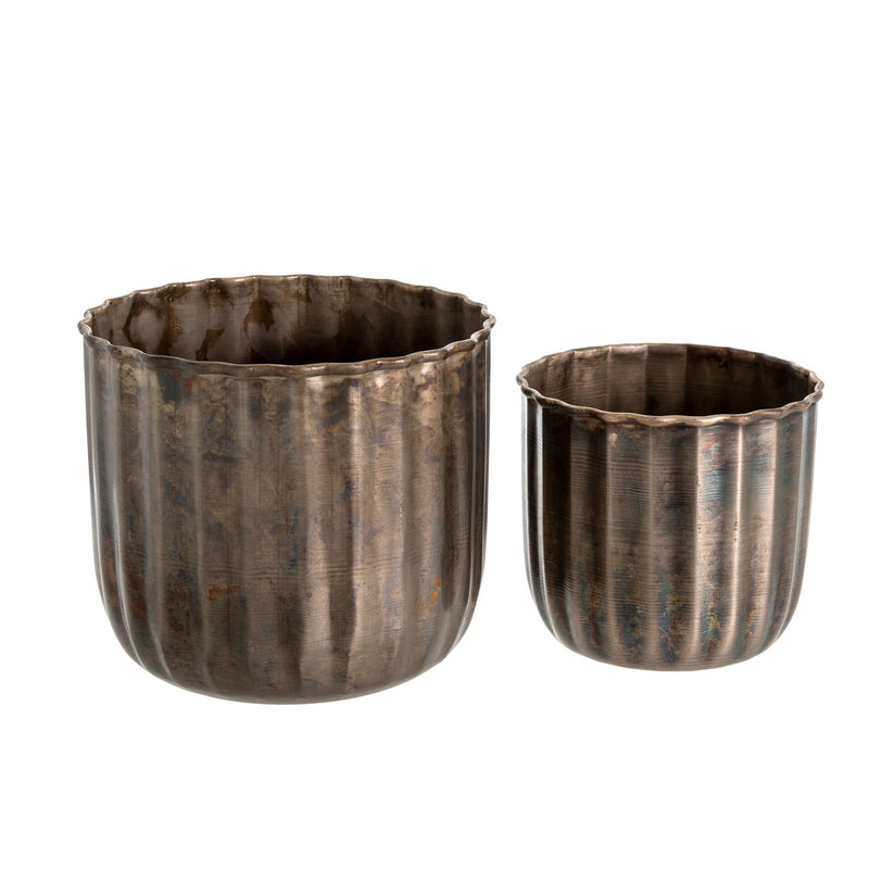 Iron Barrel Pot - Small