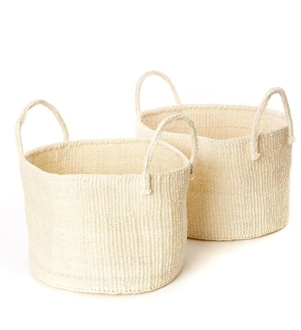 Palmer Basket - Cream - Large