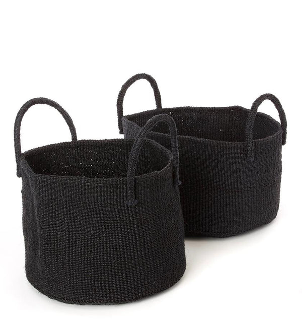 Palmer Basket - Black - Large