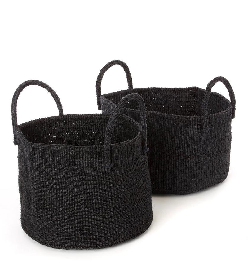 Palmer Basket - Black - Medium