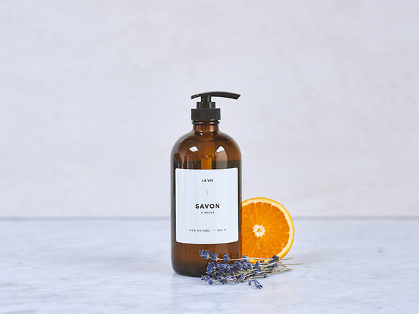 Lavender + Orange hand soap