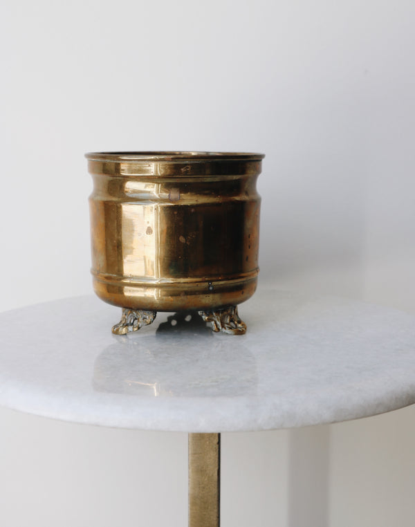 FOUND. 'Leo' Brass Bowl