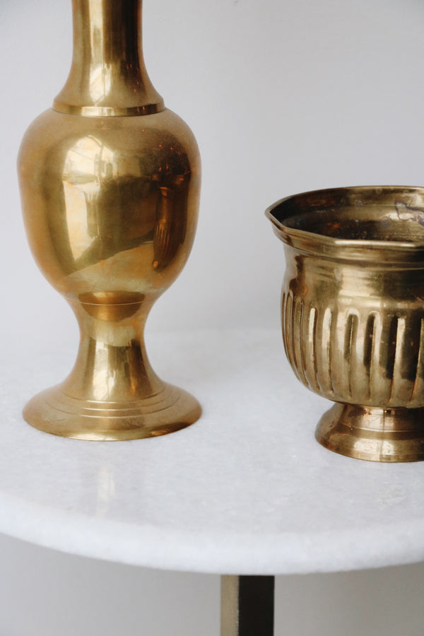 FOUND. 'Elias' Brass Bowl