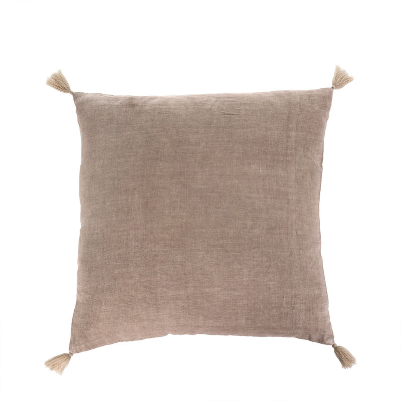 Nala Linen Cushion, Taupe