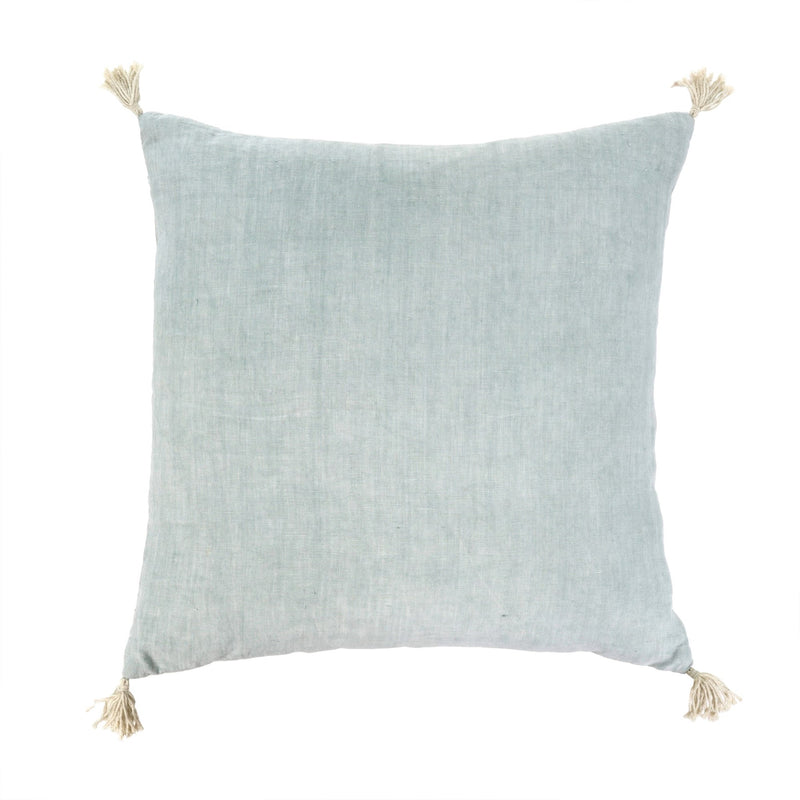 Nori Linen Cushion, Sky