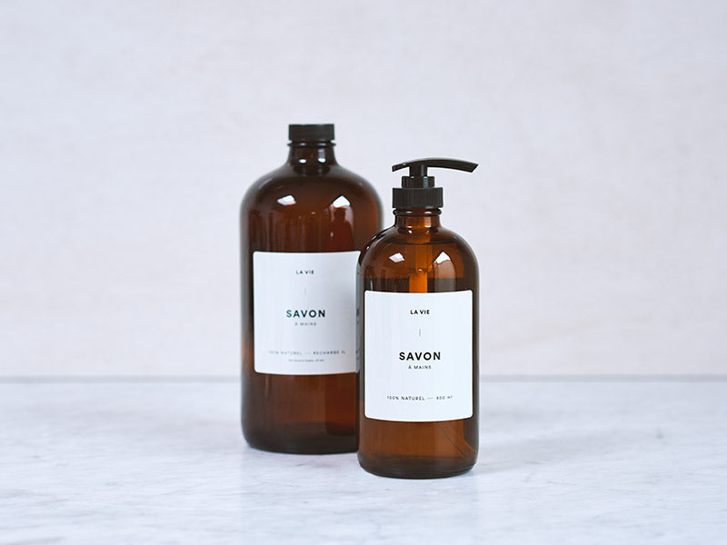 Lavender + Orange hand soap | 1 litre refill