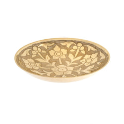 Primrose Brass Decor Bowl