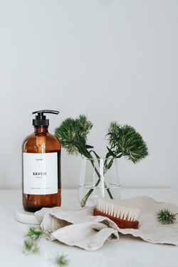 Grapefruit + Rosemary hand soap