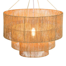 Three Tier Jute Pendant