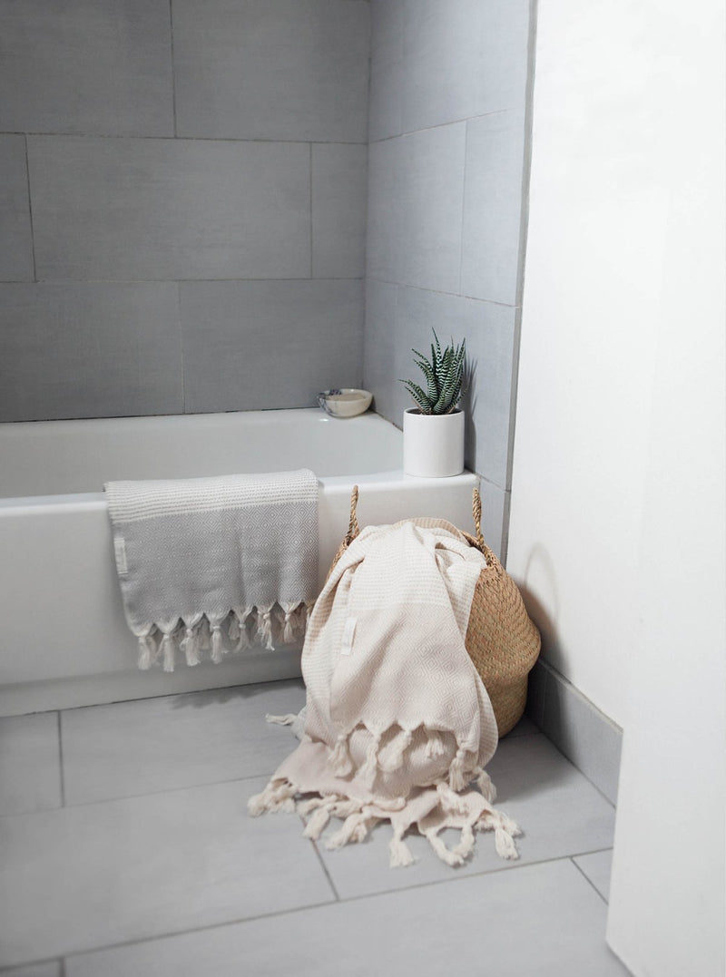 Hare Turkish towel - beige
