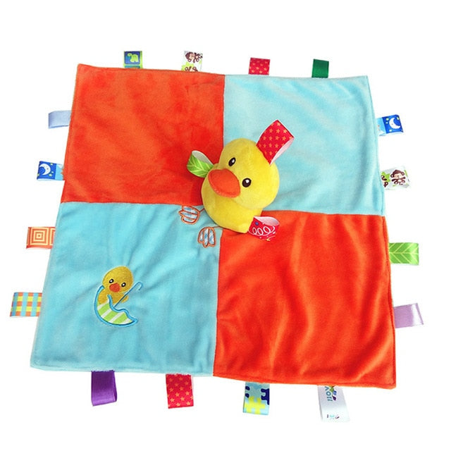 Taggie Styled Baby Blanket with Duck