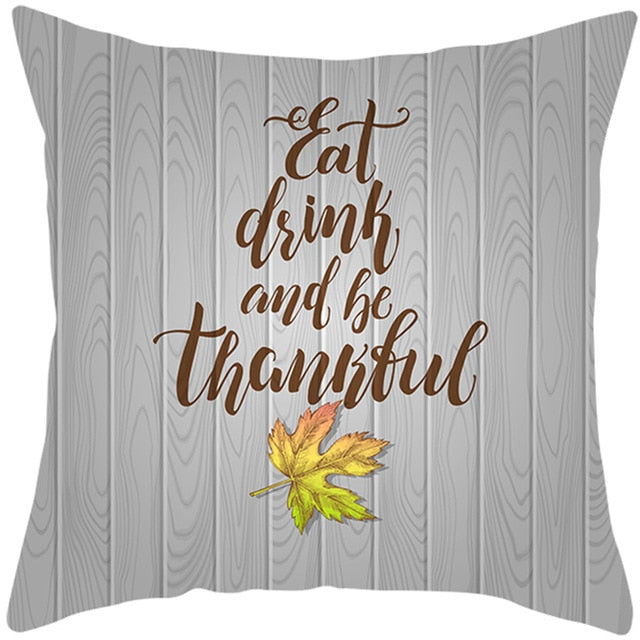 Pillow/Cushion Cover - Holiday Themed - Fall / Thanksgiving