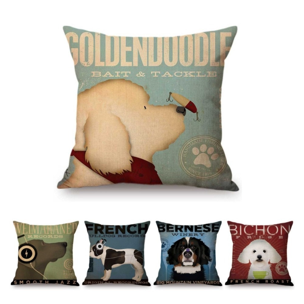 Pillow Cushion/Cover - Bird Dog Friends
