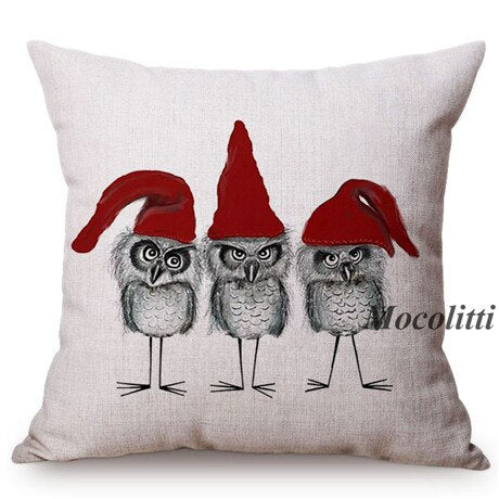Pillow/Cushion Cover - Holiday Themed - Winter/Christmas