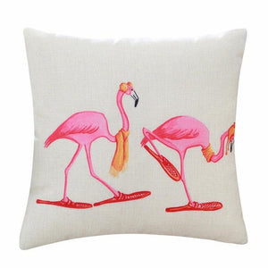 Pillow/Cushion Cover for Flamingo Lovers