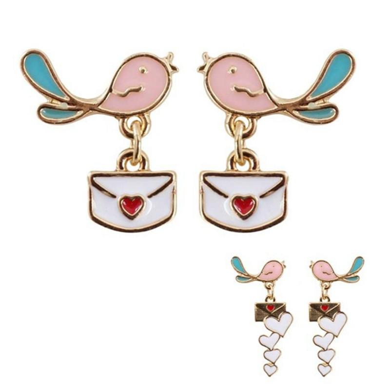 Earrings - Sending My Love Bird Earrings (3 Styles Available)