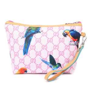 Bag - Cosmetic Bag - Bird-themed