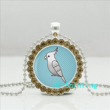 Necklace - Classic Cartoon Cockatiel Necklace