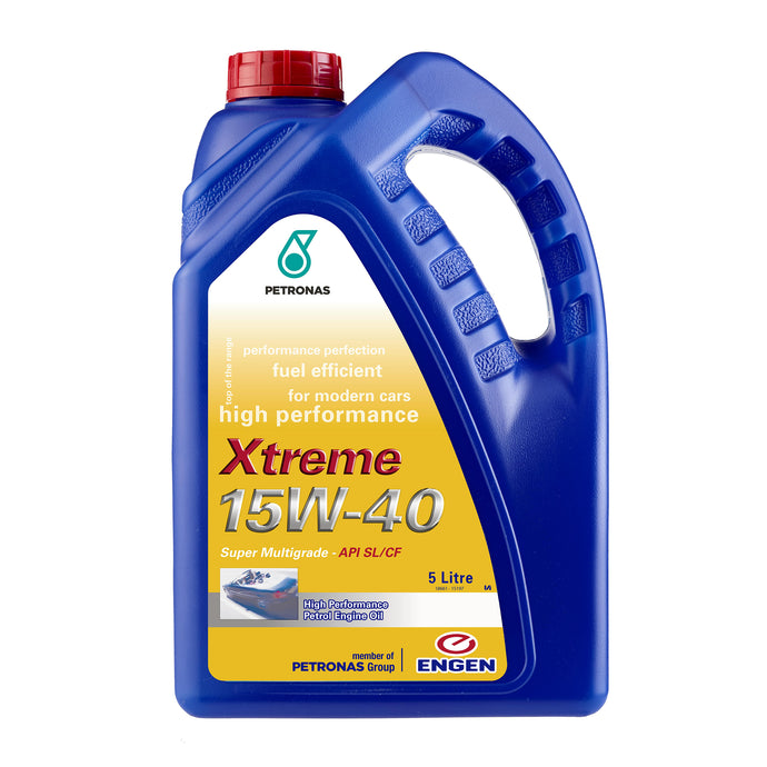 Engen Xtreme Super Multigrade High Performance Engine Oil 15W40 5litre
