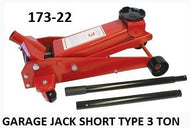 Garage Trolley Jack 3Ton Short Type