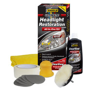 Headlight Restoration All In One Kit Shield