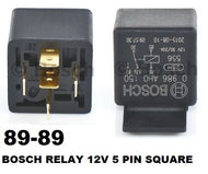 Bosch Electric Relay 12V 5 Pin Square