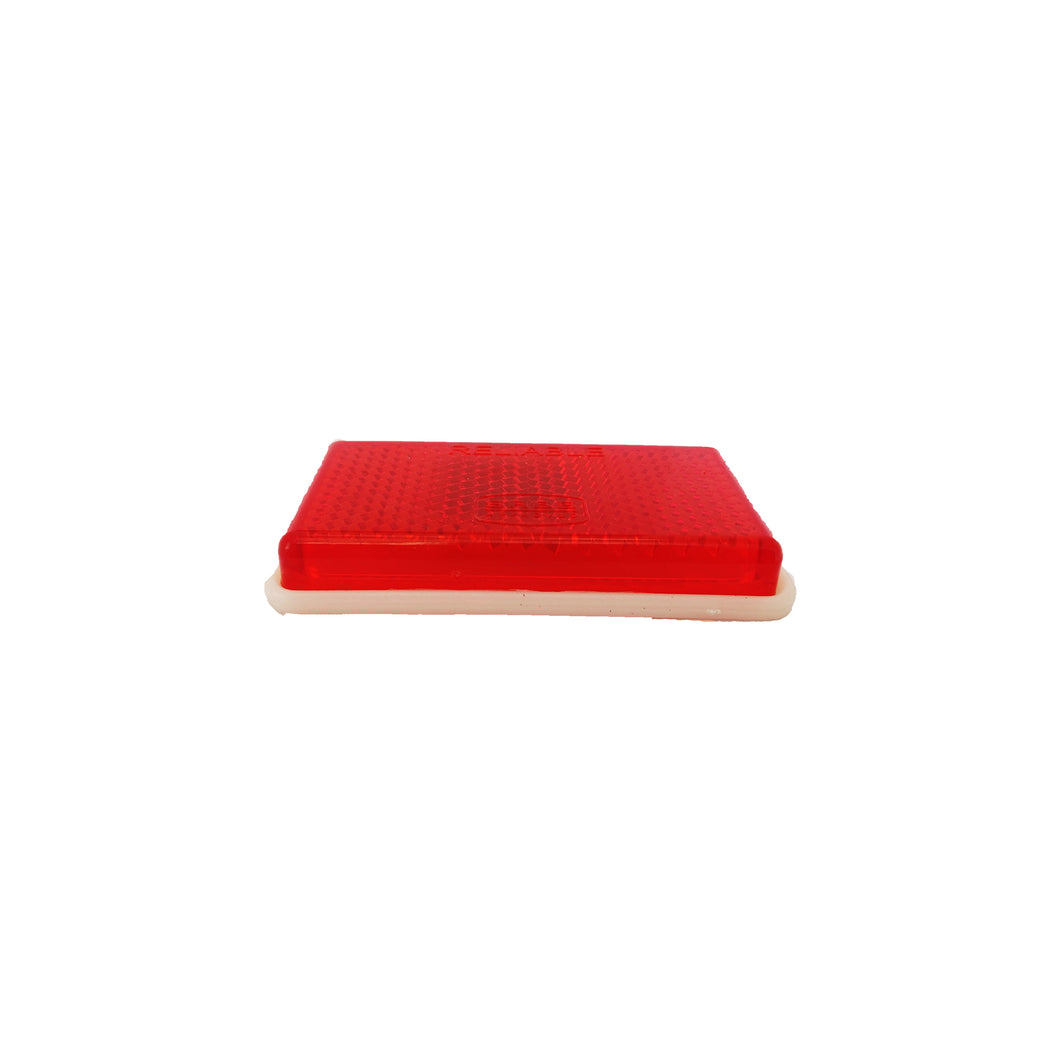 Reflector Rectangular Small (Red) 30mm x 60mm