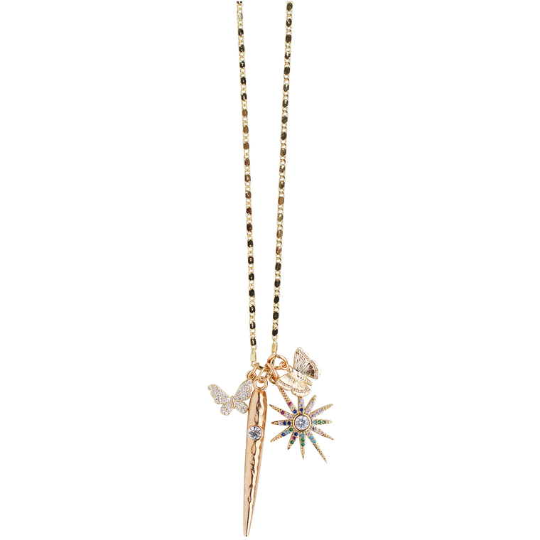 Charmy Necklace in Butterfly