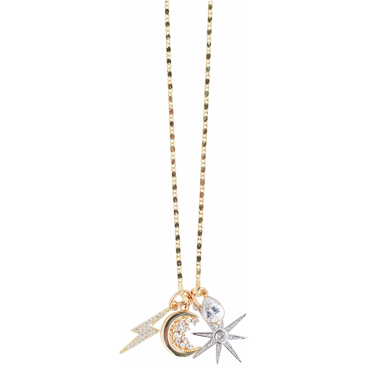 Charmy Necklace in Celestial