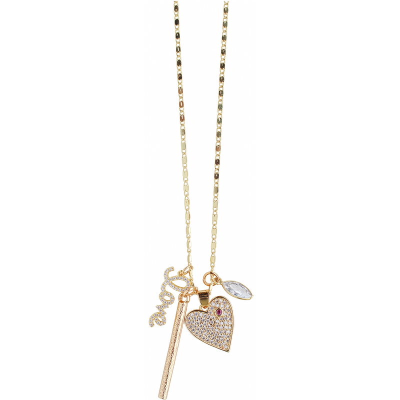 Charmy Necklace in Love