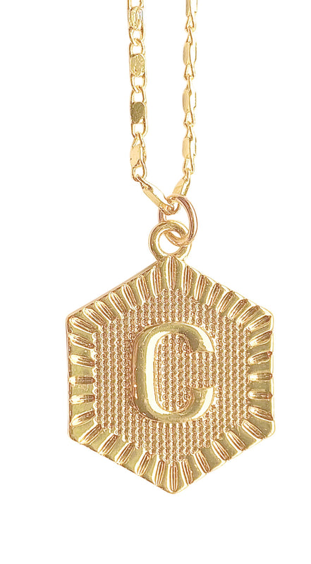 "Lydia Initial 18"" Necklace"