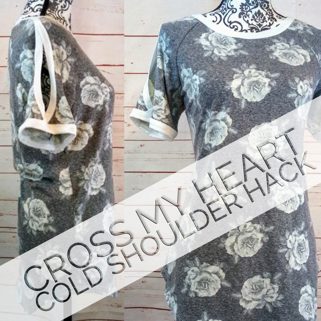 Cross My Heart Cold Shoulder Hack by Mary Douglass