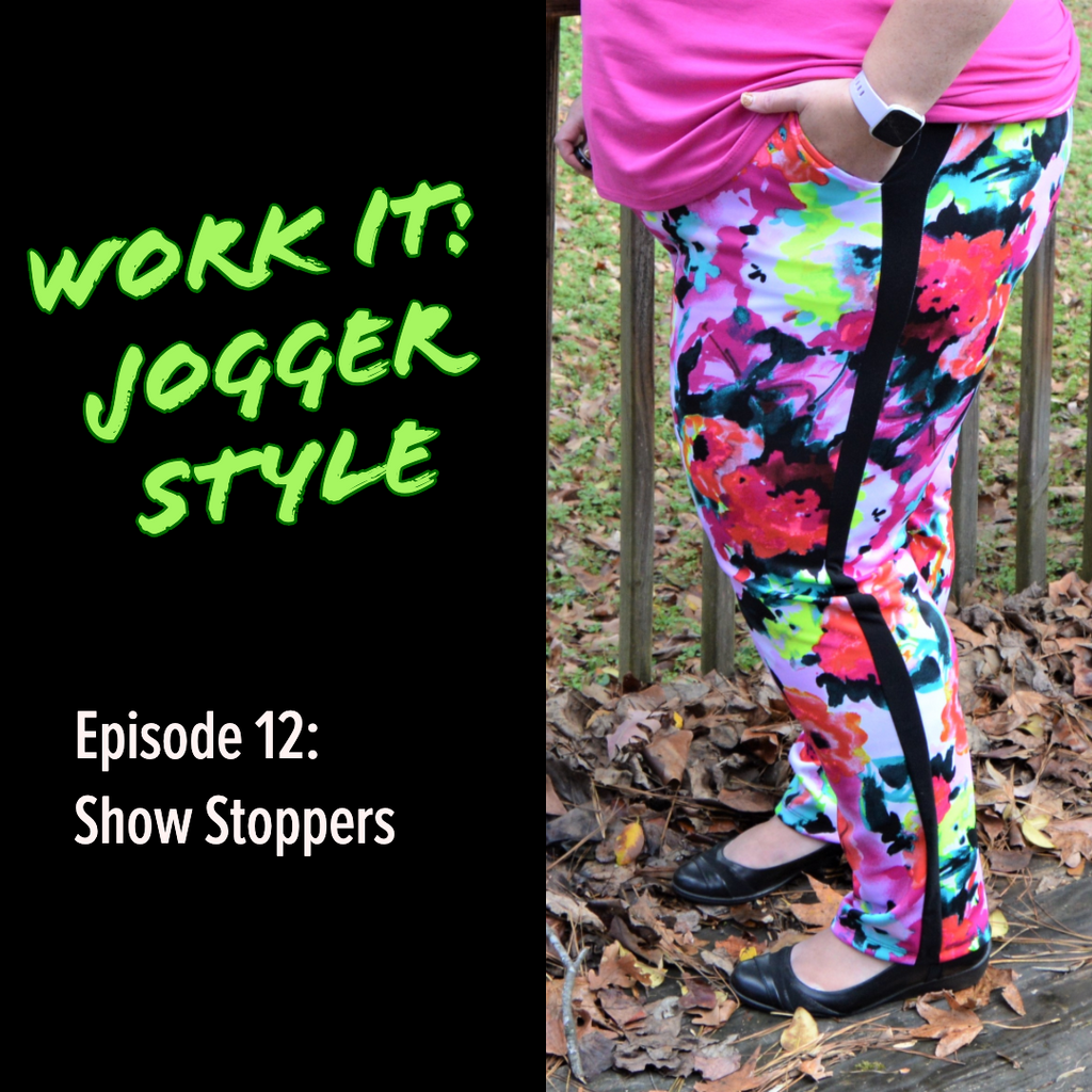 Work It: 12 Months, 1 Pattern, No Repeats! Episode 12: Show Stoppers by Stephanie Troemel