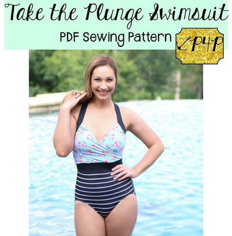 Patterns for Pirates Take the Plunge Swimsuit