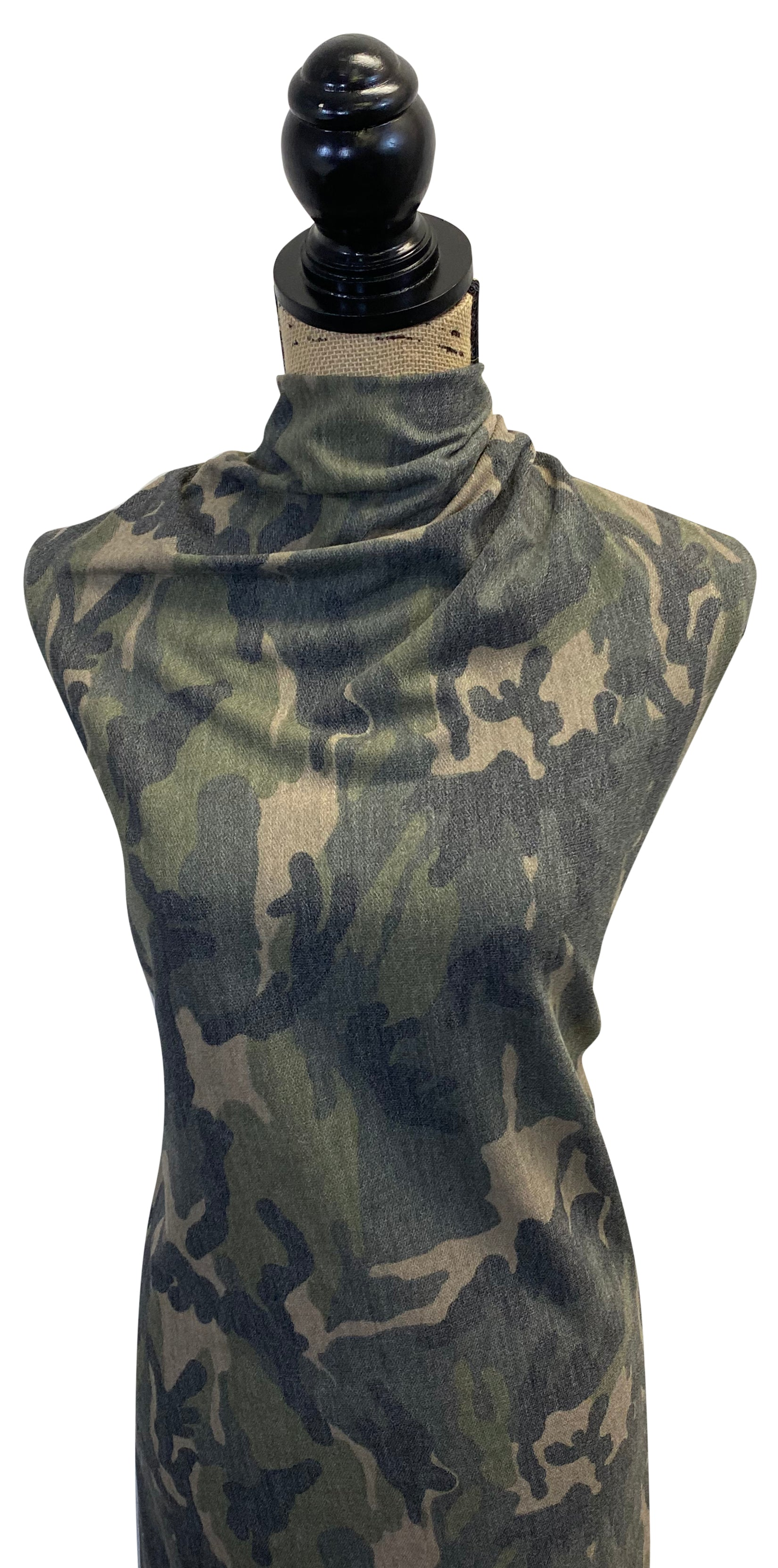 Camo Reverse French Terry