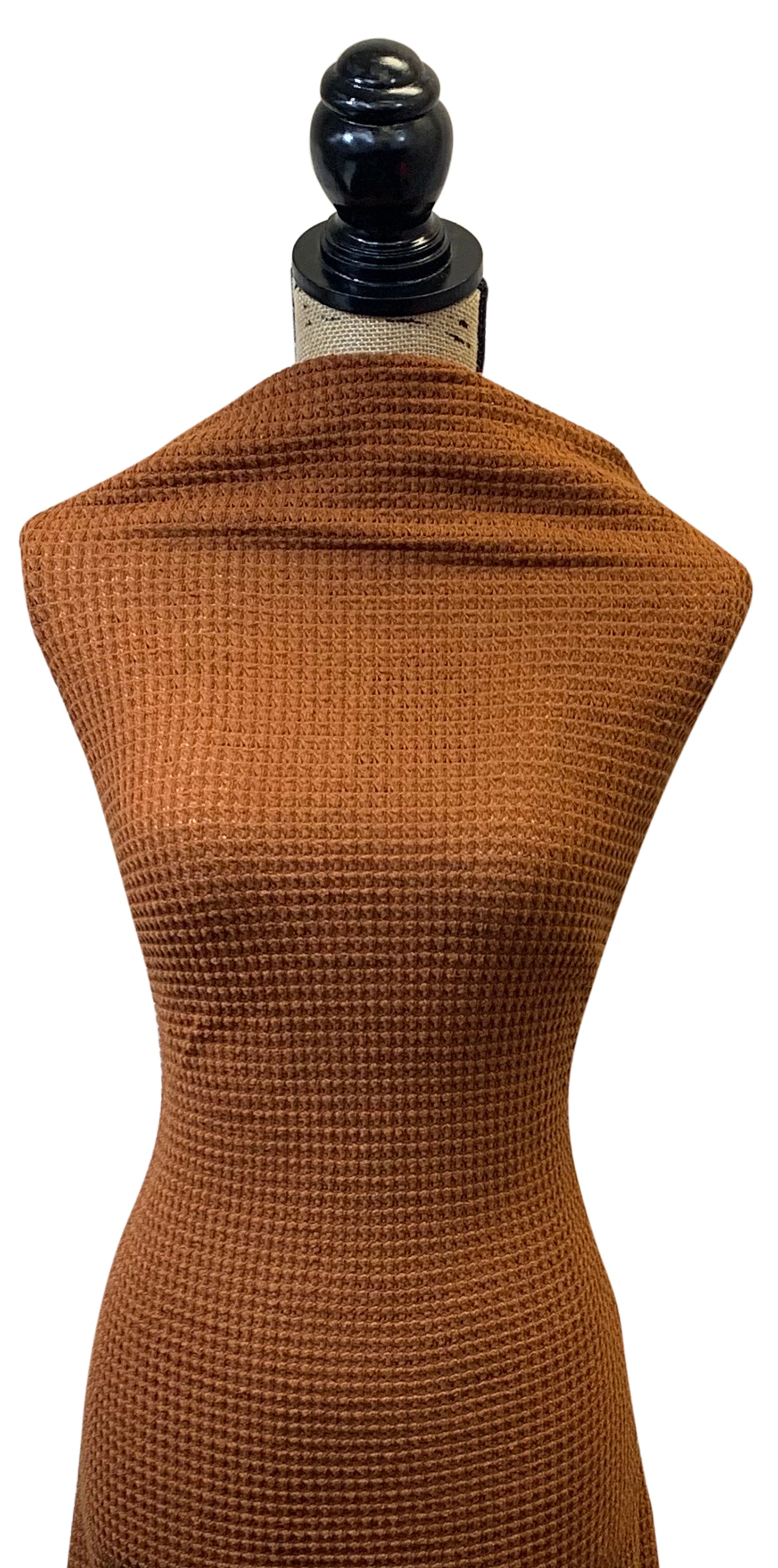 Oversize Waffle Knit Solid - Camel