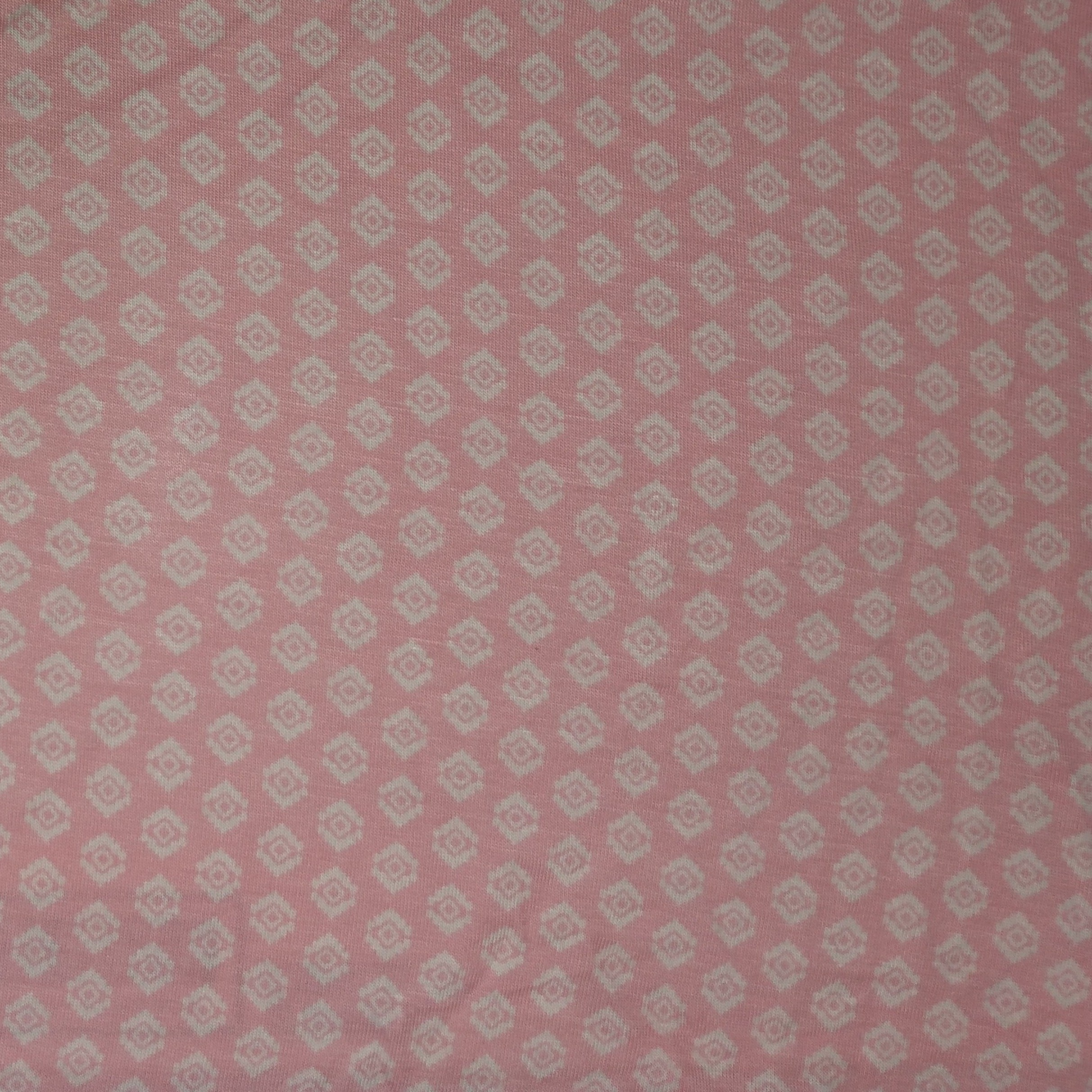 LAK  -  Rayon Spandex  -  Pink Diamonds